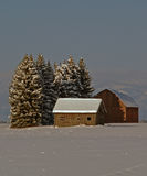 Secluded in the Snow Royalty Free Stock Images
