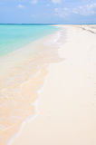 Secluded white sand beach in Cayo Levisa Island in Cuba Stock Photography