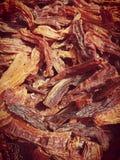 Seco do mirasol de AjÃ/pimentão secado Imagens de Stock Royalty Free
