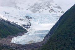 Seco glacier, receding glacier, el calafate, patagonia, argentina Royalty Free Stock Images