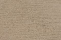 Seco, ondulado, arena de la playa en el lago foto de archivo