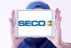 Seco Wytłacza wzory firma loga Zdjęcie Royalty Free