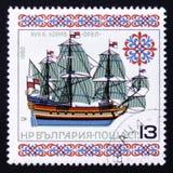 Secolo del ` XVII di Eagle del ` della nave di navigazione Fotografia Stock