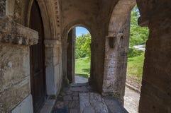secolo Pre-romanico IX dell'arco Immagini Stock