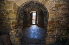 secolo Pre-romanico IX dell'arco Fotografia Stock