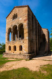 Secolo pre-romanico IX della chiesa di Santa Maria del Naranco Immagini Stock Libere da Diritti