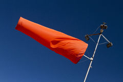The second airport windsock Stock Photo