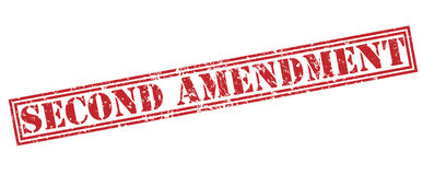 Second amendment stamp Royalty Free Stock Photos