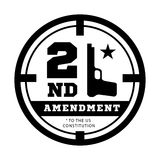 Second Amendment to the US Constitution Royalty Free Stock Photography
