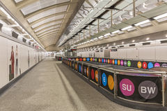 Second Avenue Subway Concourse Stock Photography