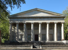 Second Bank of the United States. The Second Bank of the United States in Philly. The building is park of national historical park Stock Photo