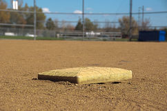 Second Base Royalty Free Stock Photos