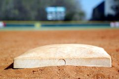 Second Base Royalty Free Stock Image