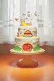 Second Birthday Cake Royalty Free Stock Photos