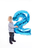 Second birthday Stock Images