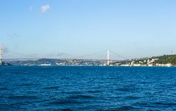 Second Bosphorus Bridge in Istanbul, Turkey. Stock Photos