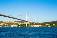 Second Bosphorus Bridge in Istanbul, Turkey. Royalty Free Stock Photo