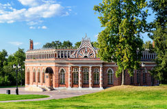 The Second Cavalry Corps of the Catherine Palace in Tsaritsyno, Royalty Free Stock Photos
