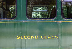 Second Class Stock Photo