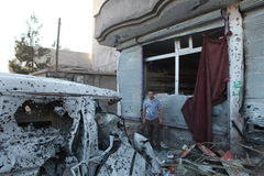 SECOND CURFEW LIFTED IN CIZRE. Stock Photography