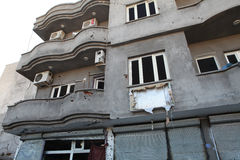 SECOND CURFEW LIFTED IN CIZRE. Royalty Free Stock Image