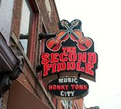 The Second Fiddle, Live Entertainment Venue Nashville Royalty Free Stock Photography