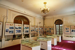The second floor exhibition room Stock Photography