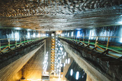 Second Floor of Salt Mine Stock Photos