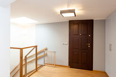 Second floor and staircase Royalty Free Stock Images