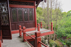 Second floor of traditional building,Chengdu Royalty Free Stock Photo
