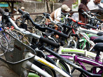 Second hand bikes Royalty Free Stock Image