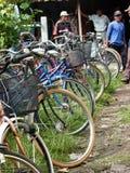 Second hand bikes Stock Image