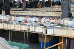 Second hand books sale Royalty Free Stock Images