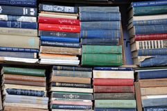 Second-hand Books. In the street of the city on the 13th of June, 2015, Tbilisi, Georgia Royalty Free Stock Photo