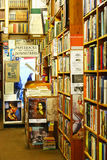 Second-hand bookshop in Charing Cross road, London Stock Image