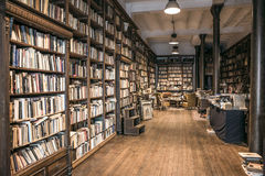 Second-hand bookshop Royalty Free Stock Photography
