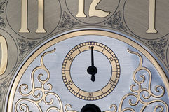 Second hand on clock face Royalty Free Stock Photography