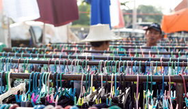 Second hand clother business Royalty Free Stock Images