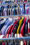 Second hand clothes Royalty Free Stock Images