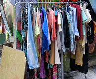 Second hand clothes Stock Photos