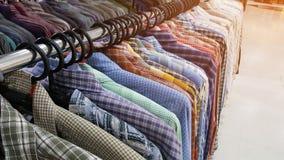 Second hand plaid shirt Royalty Free Stock Photo