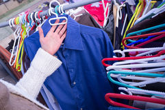 Second hand shop Royalty Free Stock Image