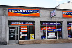 Second hand shop Stock Images