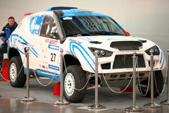 Second International offroad exhibition Stock Images