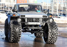 Second International offroad exhibition Stock Photos