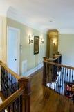 Second level hallway Stock Images