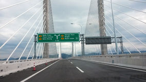 Second Penang Bridge Stock Photography