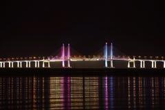 Second Penang Bridge. Sultan Abdul Halim Muadzam Shah Bridge Royalty Free Stock Image