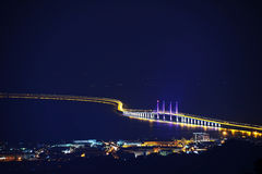 Second Penang Bridge Stock Images