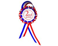 Second prize medal Royalty Free Stock Photography
